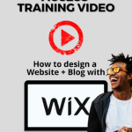 How to design website and blog with WIX