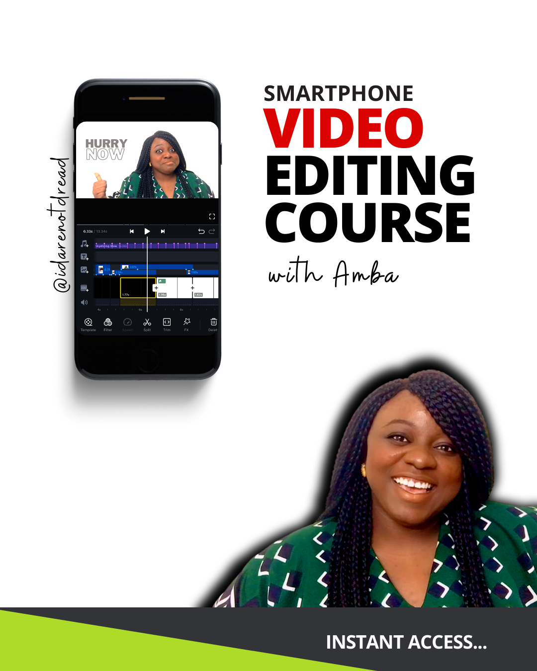 Smartphone video editing course